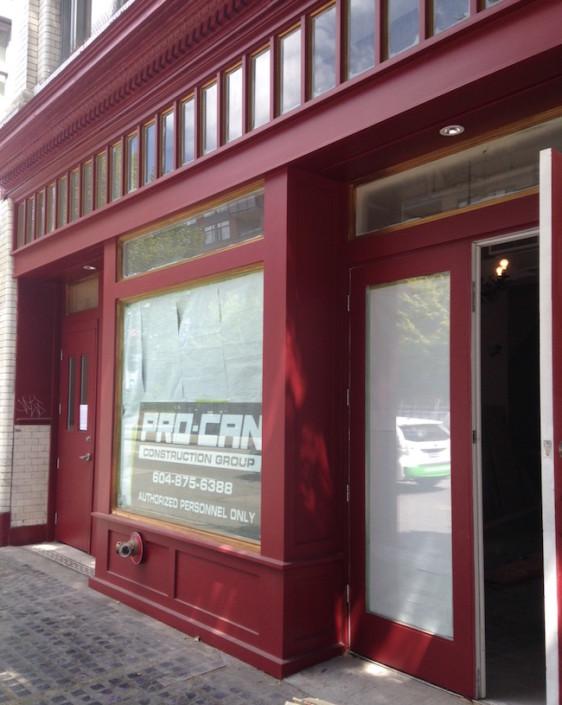VANCITYBUZZ - Opening soon: Bodega on Main